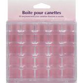 Stoccaggio per lattine - Couture loisirs - Valigetta per 25 bobine