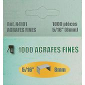 Accessorio creativo - LMC - 1000 graffe fini 8 mm