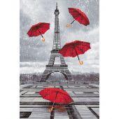 Kit Punto Croce - Nova Sloboda - Piove a Parigi!