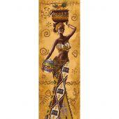 Kit di ricamo con perline - Nova Sloboda - Donna africana con frutti