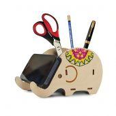 Kit supporto per ricamare - Oven - Elefante da scrivania