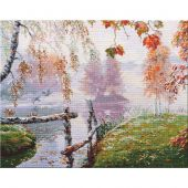 Kit Punto Croce - Oven - Il respiro dell'autunno