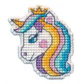 Kit di ornamenti da ricamare - Oven - Distintivo Unicorno 2