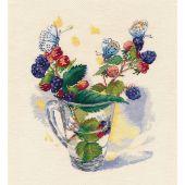 Kit Punto Croce - Oven - Bouquet di agosto
