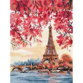 Kit Punto Croce - Oven - Parigi Romantica
