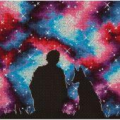 Kit Punto Croce - Panna - I migliori amici dell'universo