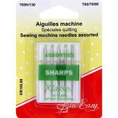 Aghi per macchine da cucire - Sew Easy - Aghi per quilting - T60/70/80