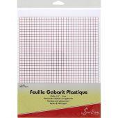 Foglio e carta da traccia - Sew Easy - 2 fogli per modelli griglia 7 mm
