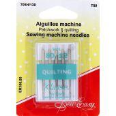 Aghi per macchine da cucire - Sew Easy - Aghi per quilting 80/12