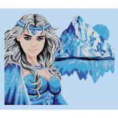 Kit Punto Croce - Luc Créations - principessa di ghiaccio