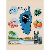 Kit Punto Croce - Luc Créations - La Corsica