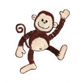 Termoadesiva - Prym - Scimmia danzante beige/marrone