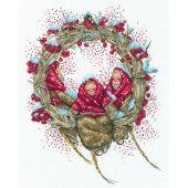 Kit Punto Croce - RTO - Corona di Natale