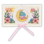 Kit Punto Croce - Riolis - Carta di congratulazioni - Nascita