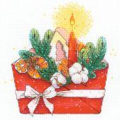 Kit Punto Croce - Riolis - Lettera di Capodanno