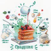 Kit Punto Croce - Riolis - Ricetta del pancake
