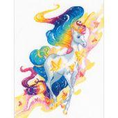 Kit Punto Croce - Riolis - Fata unicorno