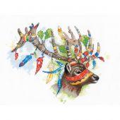 Kit Punto Croce - Riolis - Cervo nobile