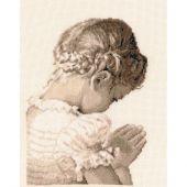 Kit Punto Croce - Vervaco - Ragazza che prega