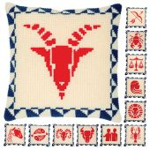 Kit cuscino fori grossi - Vervaco - segno zodiacale