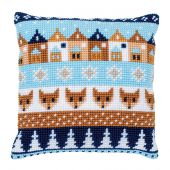Kit cuscino fori grossi - Vervaco - Modelli invernali