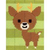 Kit di tela per bambini - Vervaco - Cervo