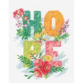 Kit Punto Croce - Vervaco - hope, speranza