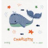 Kit Punto Croce - Vervaco - Piacere della balena