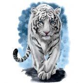 Kit ricamo diamante - Wizardi - Tigre possente