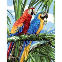 Canovaccio antico - Royal Paris - I macaws