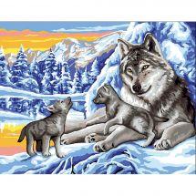 Canovaccio antico - Royal Paris - I lupi in inverno