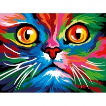 Canovaccio antico - Margot de Paris - Faccia cat colored