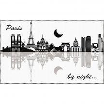 Kit Punto Croce - Marie Coeur - Parigi di notte