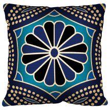 Kit cuscino fori grossi - Margot de Paris - Cuscino blu