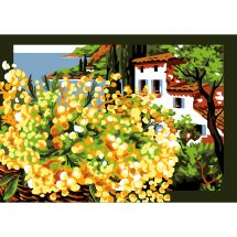 Canovaccio antico - Luc Créations - Il mimosa