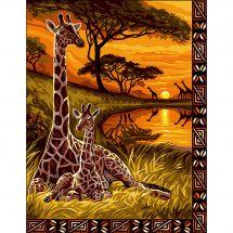 Canovaccio antico - Luc Créations - Ricordo d'Africa