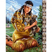 Canovaccio antico - Luc Créations - L'indiano e il lupo