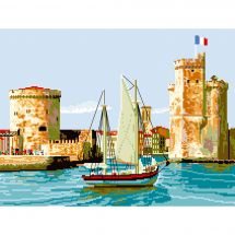 Canovaccio antico - Luc Créations - Il porto di Il Rochelle