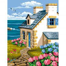 Canovaccio antico - Luc Créations - La casa bretone