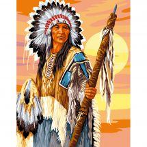 Canovaccio antico - Luc Créations - L'indiano