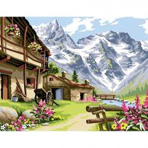 Canovaccio antico - Luc Créations - villaggio di montagna