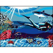 Canovaccio antico - Luc Créations - Sotto il mare
