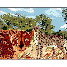 Canovaccio antico - Luc Créations - I gattopardi