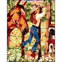 Canovaccio antico - Luc Créations - Cow girl