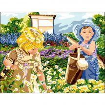Canovaccio antico - Luc Créations - Una giornata al giardino
