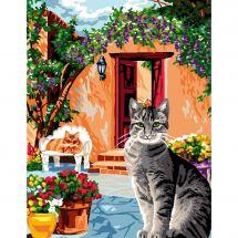 Canovaccio antico - Luc Créations - L'angolo dei gatti