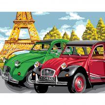 Canovaccio antico - Luc Créations - Passeggiata a Parigi