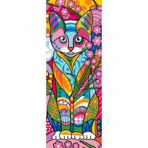 Canovaccio antico - Margot de Paris - Gatto colorato