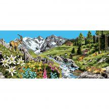 Canovaccio antico - Luc Créations - La montagna, ciò ci guadagna