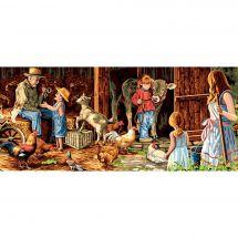 Canovaccio antico - Luc Créations - pastorale familiare